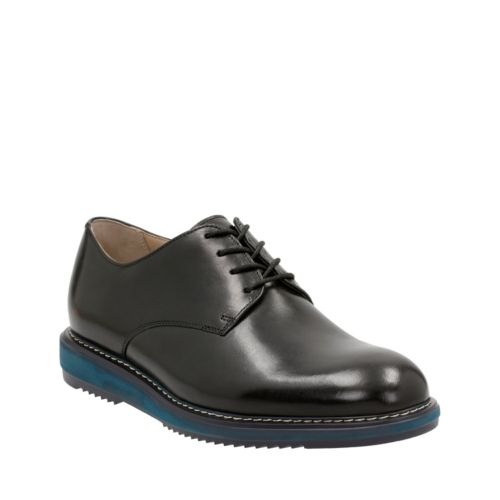 Kenley Walk Black Leather mens-oxfords-lace-ups