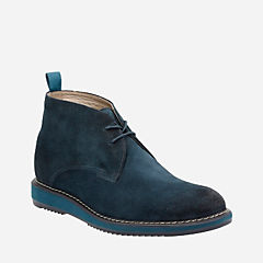 Kenley Mid Navy Suede mens-ortholite