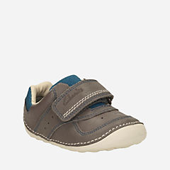 Tiny Tay Baby Grey Leather boys