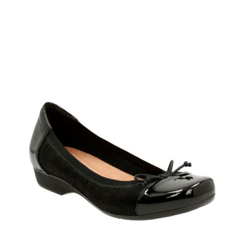 Blanche Nora Black Suede womens-flats