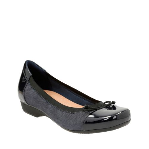 Blanche Nora Navy Suede womens-flats