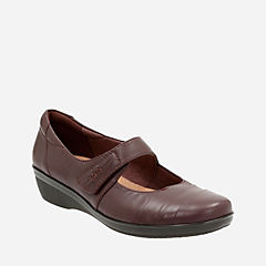 Everlay Kennon Aubergine Leather womens-narrow-width