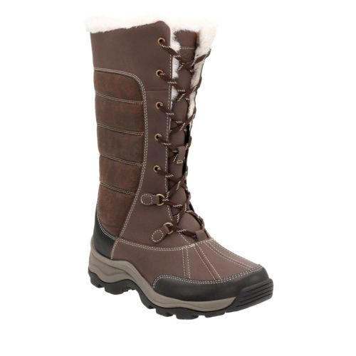 Mazlyn Mill Brown Leather/Synthetic Combo sale-womens