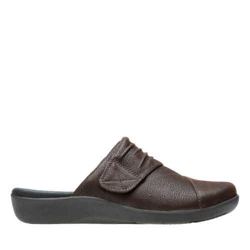 Sillian Rhodes Dark Brown Synthetic Nubuck womens-wide-width