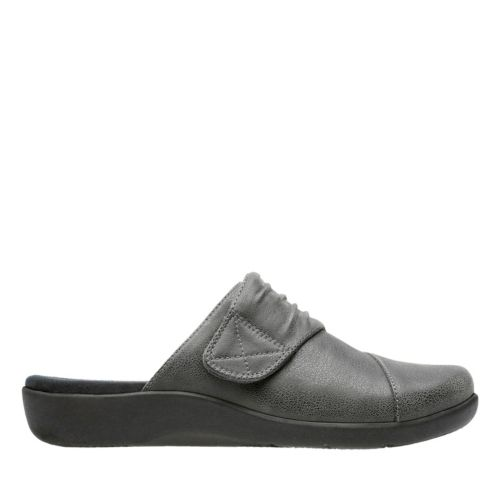 Sillian Rhodes Grey Synthetic Nubuck sale-womens-flats