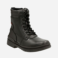 Kimball Rise Black Leather mens-casual-boots