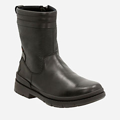 Kimball Peak Black Leather - Warm Lined mens-boots