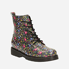 Purley Yo Youth Floral girls-boots
