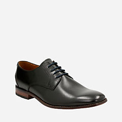 Narrate Vibe Black Leather mens-bostonian-dress-shoes