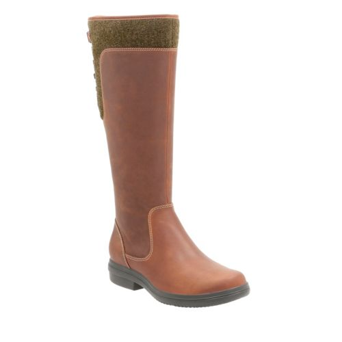 Tavoy Cedar Tan Leather womens-waterproof-boots