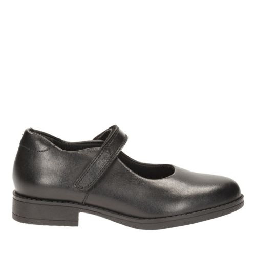 Sami Sugar Toddler Black Leather girls-toddler