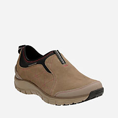 Wave Slide Taupe Suede womens-wave-walk