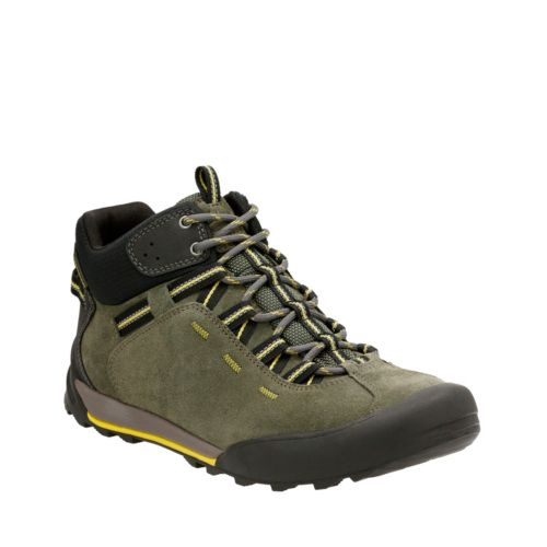 Outlay Roam Olive Suede mens-ortholite