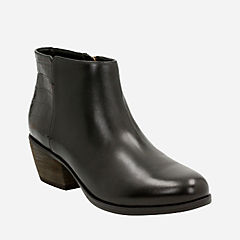 Gelata Italia Black Combi Leather womens-ankle-boots
