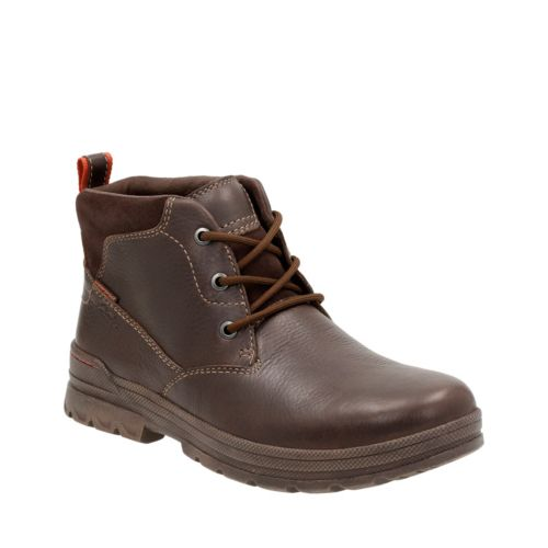 Ryerson Ridge Brown Leather mens-ortholite