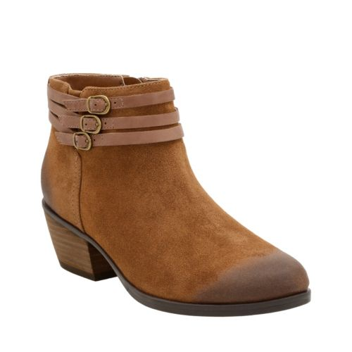 Gelata Siena Tan Suede womens-ortholite