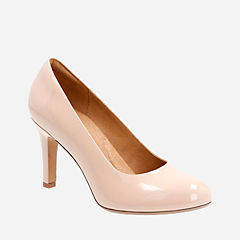 Heavenly Star Nude Patent Leather womens-heels