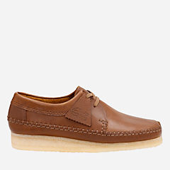 Weaver Tan Leather originals-mens-shoes