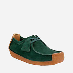 Natalie Dark Green Leather originals-mens-shoes