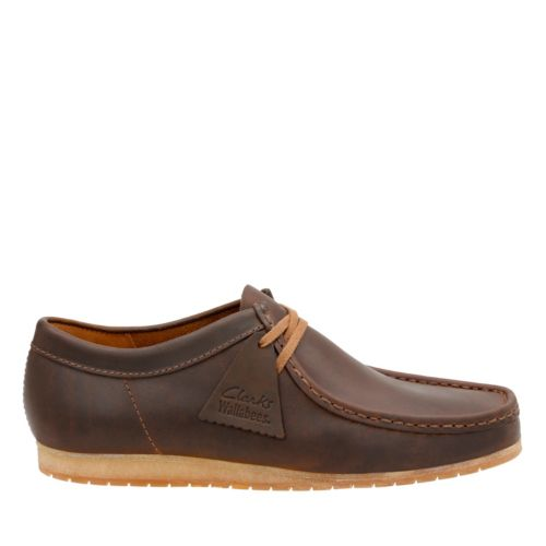 Wallabee Step Beeswax Leather mens-casual-shoes