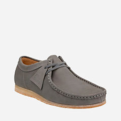 Wallabee Step Grey Nubuck originals-mens-shoes