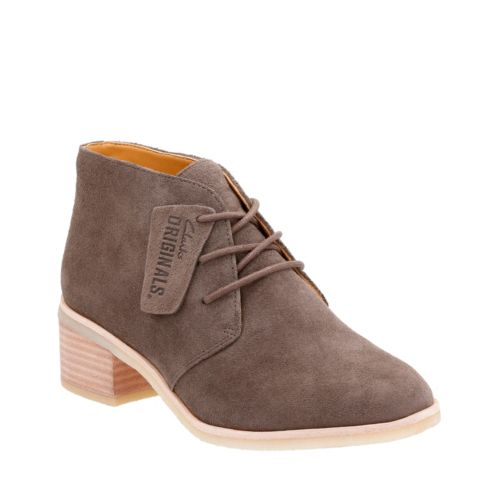 Phenia Carnaby Grey Suede originals-womens-boots