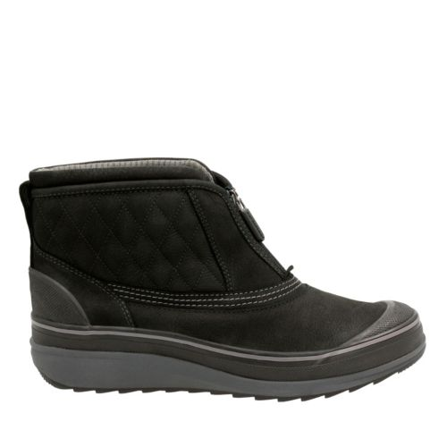 Muckers Swale Black Nubuck womens-ankle-boots