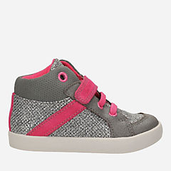 Juggle Zip First Silver Metallic girls-shoes