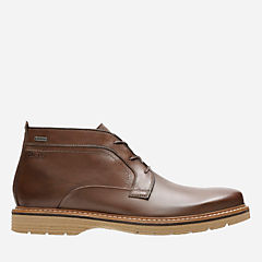Newkirk Up Gtx Brown Leather mens-waterproof-boots