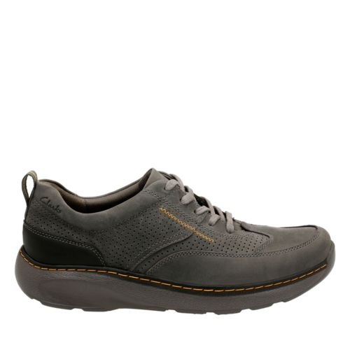 Charton Mix Grey Leather mens-ortholite