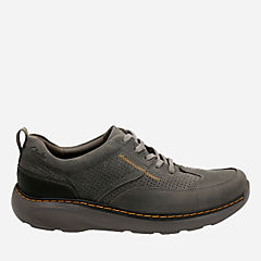 Charton Mix Gray Leather mens-ortholite