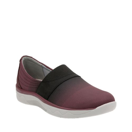 Mckella Brynn Aubergine Synthetic Mesh womens-comfort-shoes