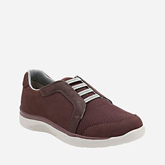 Mckella Morris Aubergine Synthetic Nubuck womens-purple-shoes
