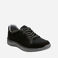 Mckella Nia Black Synthetic Nubuck womens-cloudsteppers-view-all