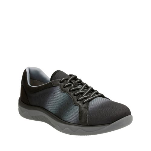 Mckella Simone Black Synthetic Mesh womens-wide-width