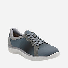 Mckella Simone Grey Synthetic Mesh cloudsteppers-new-arrivals