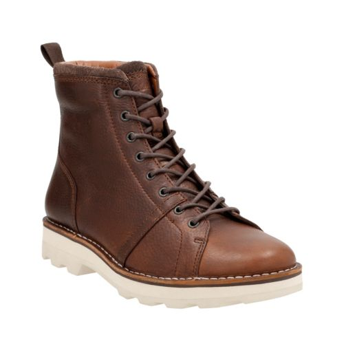 Korik Edge Tobacco Warm Lined Leather mens-ortholite