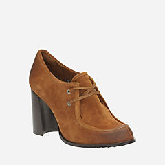 Cass Day Tan Suede womens-heels