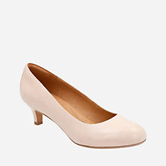 Heavenly Shine Nude Leather womens-wide-width