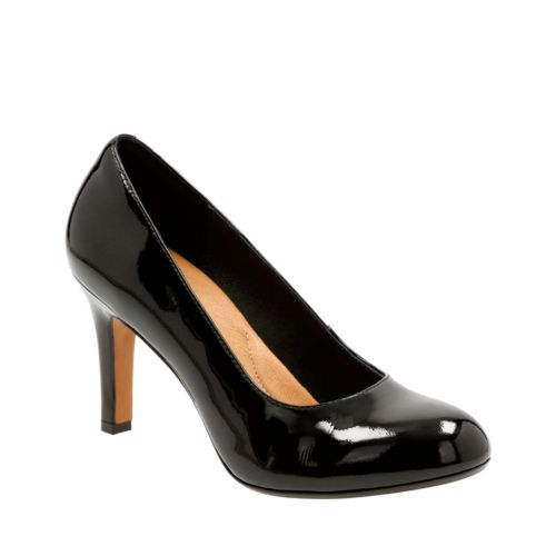 Heavenly Star Black Patent Leather womens-heels