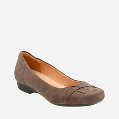 Blanche Fria Taupe Suede womens-flats