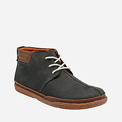Trapell Mid Navy Nubuck mens-ortholite