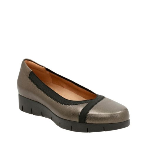 Daelyn Hill Bronze Leather womens-ortholite