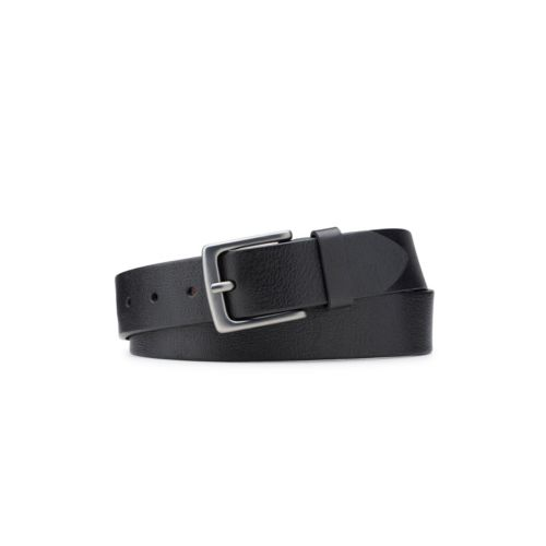 Men's Milled Leather Belt  Black mens-accessories