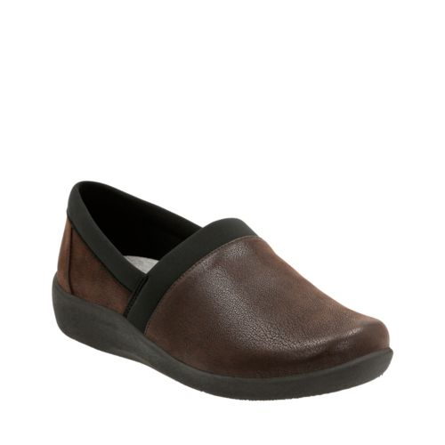 Sillian Blair Brown Synthetic Nubuck womens-wide-width