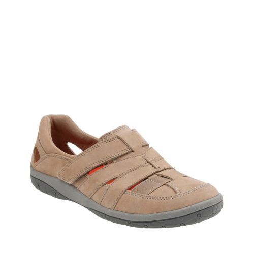 Teffa Adorn Taupe Nubuck womens-wide-width
