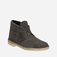 Desert Boot Grey Warm Lined Suede originals-mens