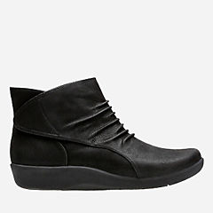 Sillian Sway Black Synthetic Nubuck womens-narrow-width