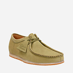 Wallabee Step Olive Nubuck originals-mens-shoes