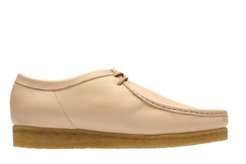 Wallabee Natural Veg Tan Leather originals-mens-shoes